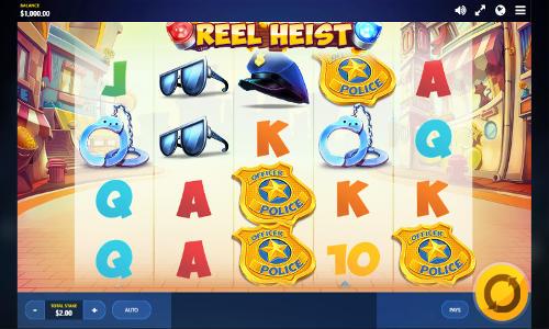New Reel Heist Slot at Red Tiger Gaming Casinos