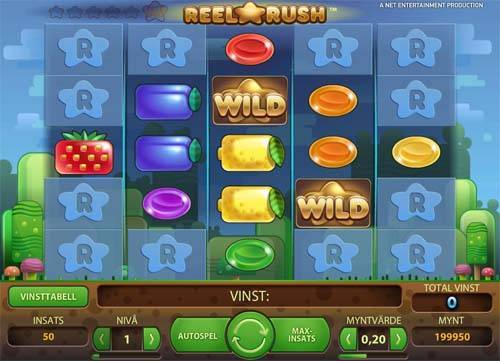 Reel Rush Videoslot Screenshot
