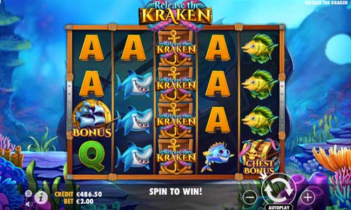 Release the Kraken Videoslot Screenshot