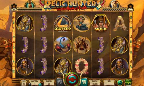 Relic Hunters and the Book of Faith Videoslot Screenshot