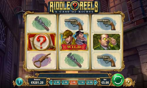 riddle reels a case of riches slot overview and summary