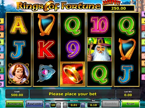 Rings of Fortune Slot - Play Online for Free Money