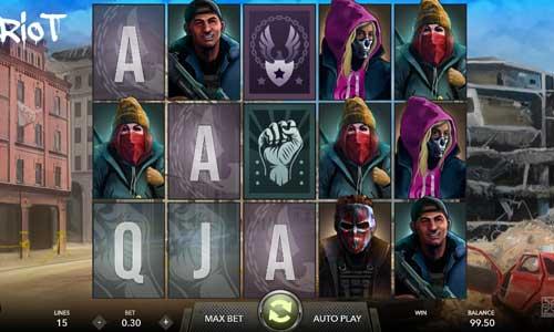 Riot Videoslot Screenshot
