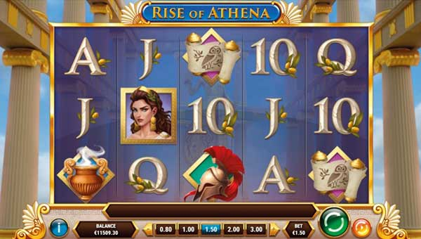 rise of athena slot overview and summary