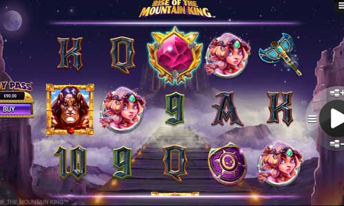 rise of the mountain king slot review