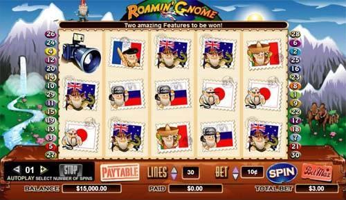 Roamin Gnome slot