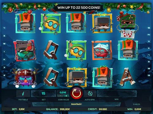 Robo Smash Videoslot Screenshot