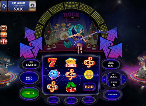 Rock the Mouse Slot - Play the Free Casino Game Online