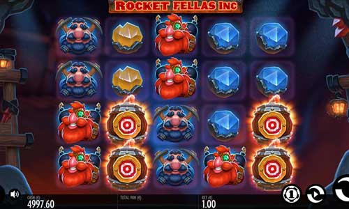 Rocket Fellas Inc Videoslot Screenshot