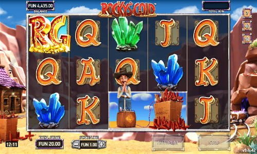 Rockys Gold slot