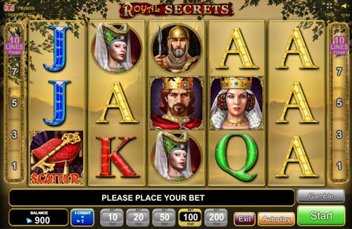 free online casino slots royal secrets