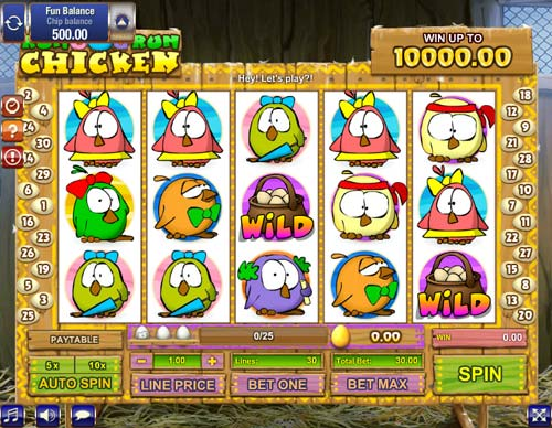 Run Chicken Run slot Games OS