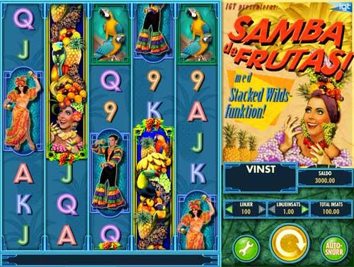 Samba De Frutas slot