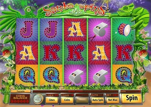 Samba Spins screenshot
