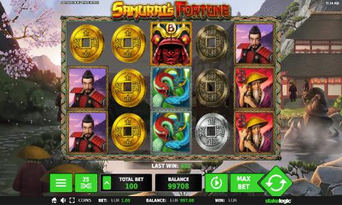 Samurais Fortune slot