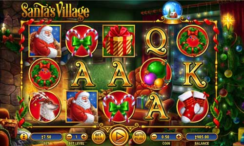 santas village slot top 5
