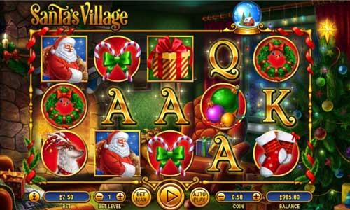 Santas Village Videoslot Screenshot