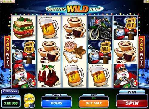 santas wild ride slot overview and summary