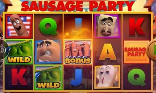 Sausage Party Videoslot Screenshot