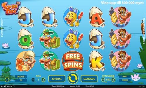 Scruffy Duck Videoslot Screenshot
