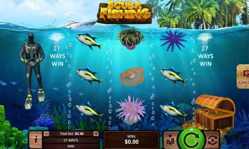 Scuba Fishing slot