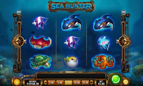 Sea Hunter Videoslot Screenshot