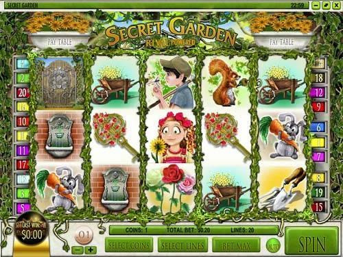 Secret Garden slot free play demo