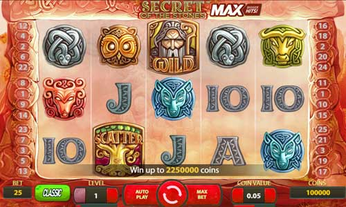 secret of the stones max slot review