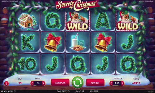 secrets of christmas slot top 5