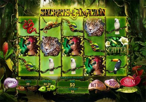Secrets of the Amazon slot