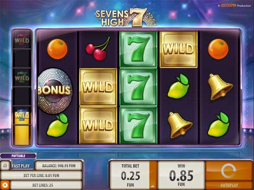 Sevens Slot - Try it Online for Free or Real Money