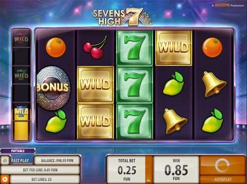 Sevens High slot