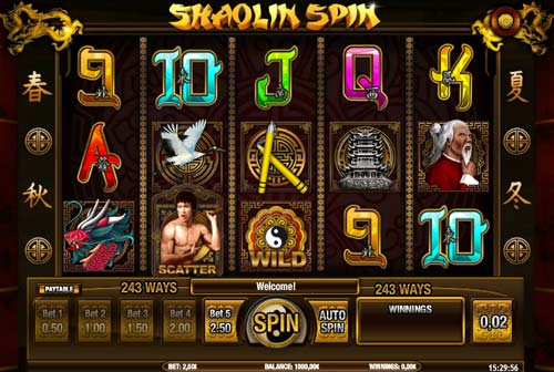 Shaolin Spin slot