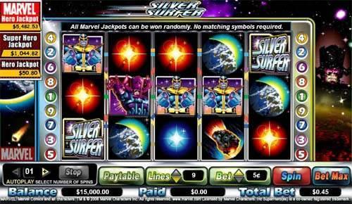 Silver Surfer slot free play demo