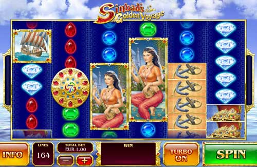 Sinbads Golden Voyage Slot - Play this Video Slot Online