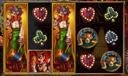 Sinister Circus Videoslot Screenshot