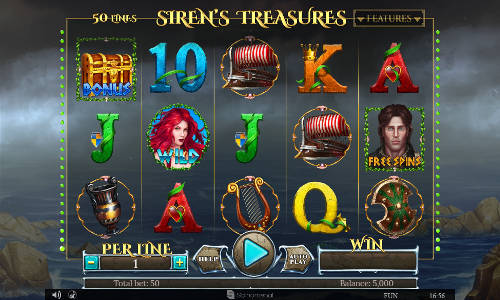 Sirens Treasures slot