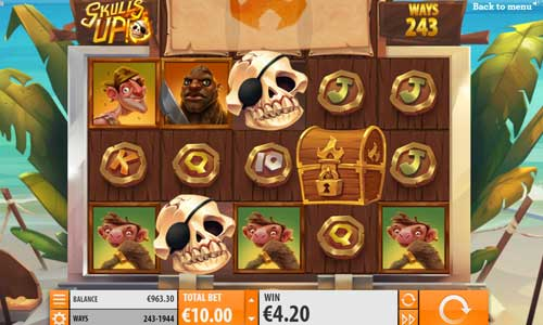 skulls up slot review