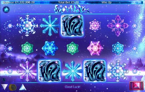 Snowflakes Videoslot Screenshot