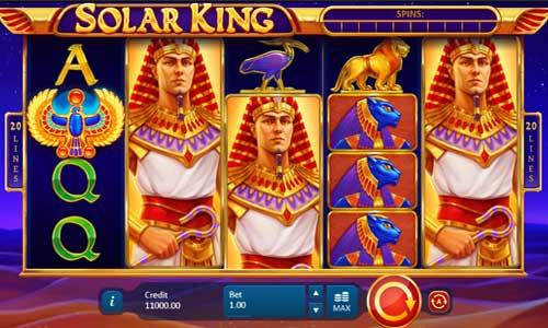 Solar King Videoslot Screenshot