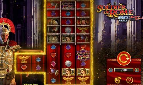 Soldier of Rome Videoslot Screenshot