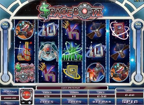 Spacebotz slot free play demo