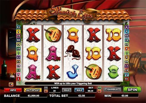 Spanish Eyes slot free play demo