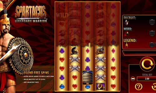 Spartacus Legendary Warrior slot