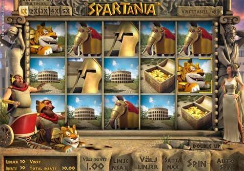 Spartania Videoslot Screenshot