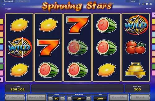 Spinning Stars slot