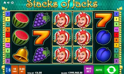 Stacks of Jacks Videoslot Screenshot