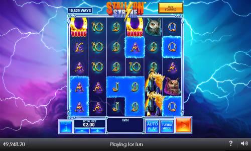 Stallion Strike Videoslot Screenshot