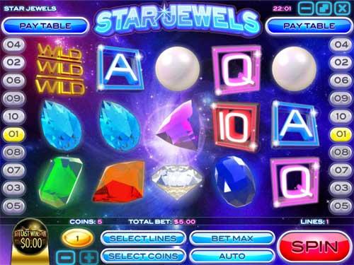 Star Jewels Videoslot Screenshot
