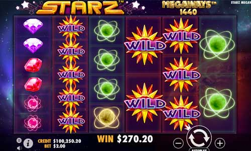 starz megaways slot overview and summary
